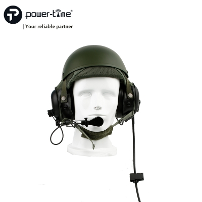 Helmet combat vehicle crewman headset DH-132